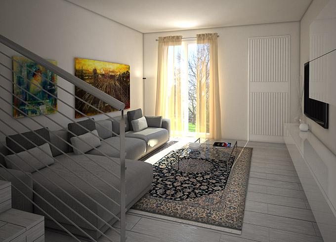 Lotto 7 immobiliare roda for Villette interni